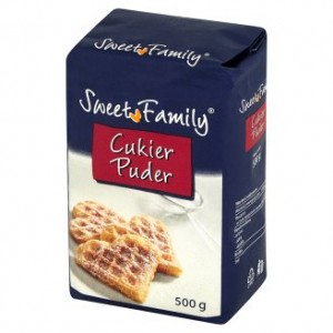 Cukier Puder Sweet Family 500G