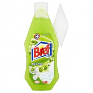 Bref WC Fresh Pearls Fresh Apple Żel do toalet 360ml
