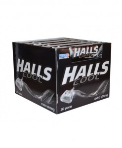 Halls Dropsy Cool Extra Strong Display 33,5g x 20