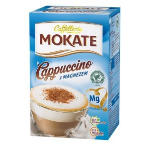 Mokate Cappuccino z magnezem 150g