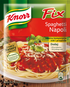Fix Knorr Do Spaghetti Napoli 37G (4P)