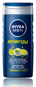 Zel Pod Prysznic Nivea 250Ml For Men Energy