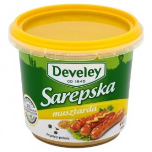 Develey Musztarda Sarepska 210g