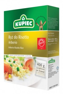 Ryż Kupiec 4*100G Arborio do Risotto