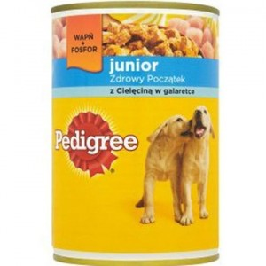 Karma Pedigree Pies Cielecina Junior 400G Puszka