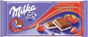 Czekolada Milka Strawberry-Yoghurt 100G