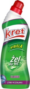 Kret żel do WC CLASSIC 750g