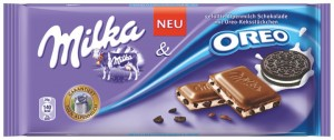 Czekolada Milka With Oreo Cookies 100G