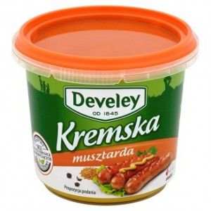 Develey Musztarda Kremska 210g
